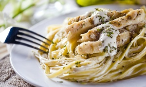 The Vineyards Trattoria: Italian Fare at The Vineyards Trattoria (48% Off). Three Options Available.