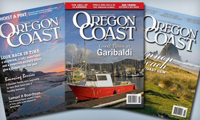 "Oregon Coast Magazine: One- or Two-Year Subscription to ""Oregon Coast Magazine"" (Up to 53% Off)"