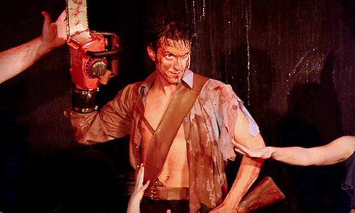 """Evil Dead The Musical 4D"" - The Strip: ""Evil Dead The Musical 4D"" for One or Two at the V Theater (Up to 57% Off)"