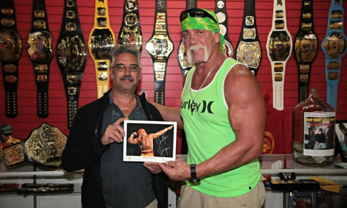 Tristar Productions - The Strip: Hulk Hogan Photo Opportunity and/or Autograph at TRISTAR Sports Memorabilia (Up to 68% Off)