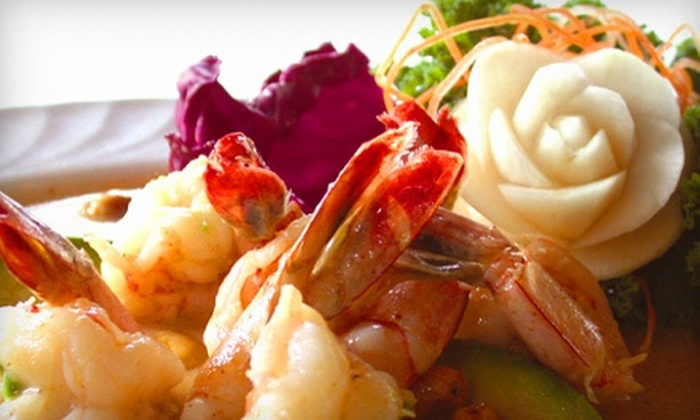 Surin of Thailand - Knoxville: $21 for $40 Worth of Thai Cuisine and Sushi at Surin of Thailand