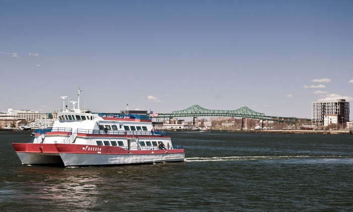 Massachusetts Bay Lines, Inc. - Downtown: Historical Harbor Cruise for Two or Four from Massachusetts Bay Lines, Inc. (Up to 55% Off)