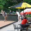 48% Off Bocce with Pizza & Beer for Four or Eight