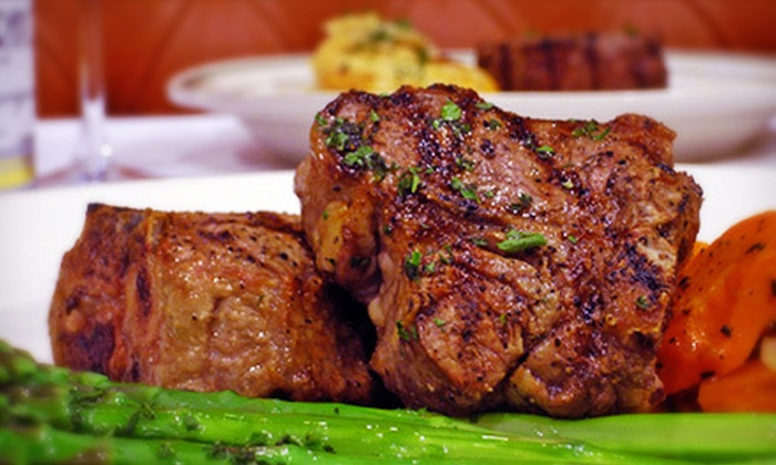 Izzy's Steaks & Chops - San Carlos: $19 for Steak-House Lunch for Two at Izzy's Steaks & Chops (Up to $38 Value)