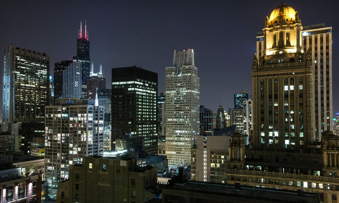 null - Chicago: One-Night Stay for Two at Hard Rock Hotel Chicago