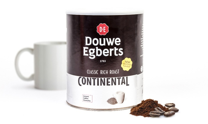 Douwe Egberts Rich Roast Continental Instant Coffee 750g Tin For 1699 40 Off