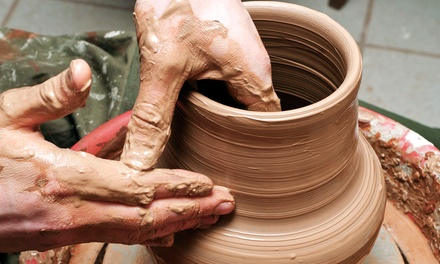 $55 for a Two-Week Pottery Course at Earthworks Pottery ($100 Value)