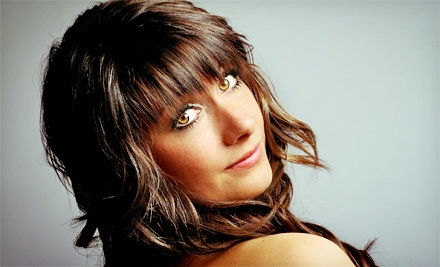 Haircut with Highlights and Color from Lynn Vermont at The Loft (Up to 79% Off). Three Options Available.
