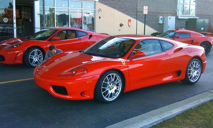 Exotic Drives of Denver - Dove Valley: Porsche GT3 or Ferrari 360 Driving Experience at Exotic Drives of Denver (Up to Half Off)