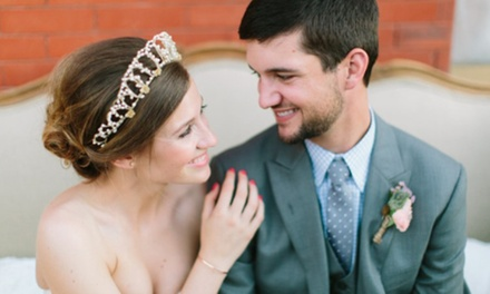 Wedding Package for Up to 150 Guests at Magnolias (Up to 56% Off). Two Options Available.