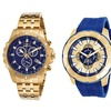 Invicta Gold Plated Men's Chronograph Watches