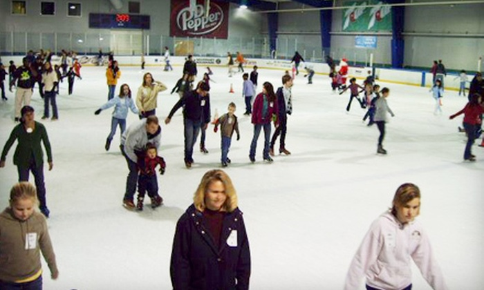 Dr Pepper StarCenter - Multiple Locations: $10 for Ice Skating for Two at Dr Pepper StarCenter (Up to $20 Value)