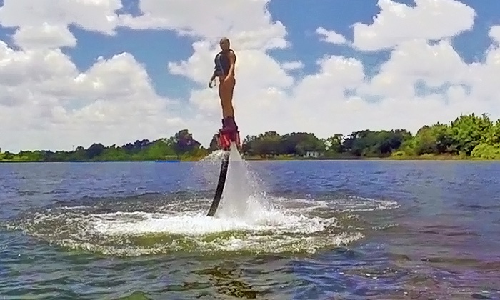 Orlando Fly Sports .com - Lake Fairview: Up to 79% Off Flyboarding and Hoverboarding at Orlando Fly Sports .com