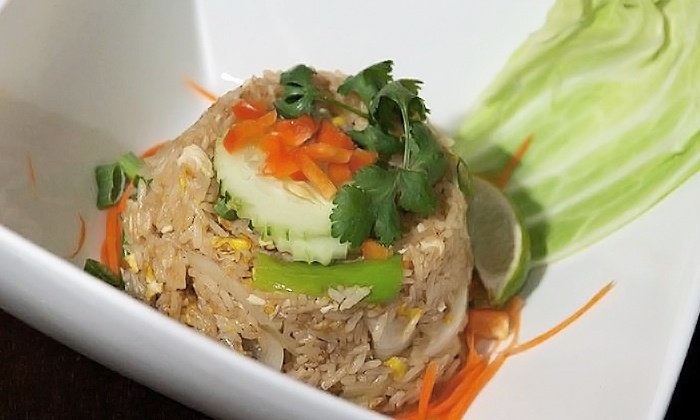 Glow Thai - Glow Thai: Thai Dinner for Two at Glow Thai (Up to 49% Off). Two Options Available.