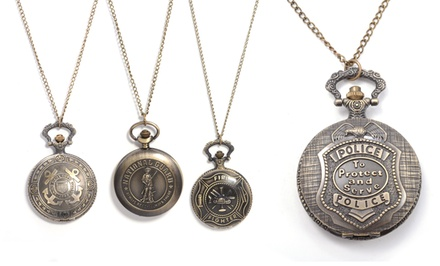 First Responder Pocket Watch. Multiple Styles Available. Free Returns.