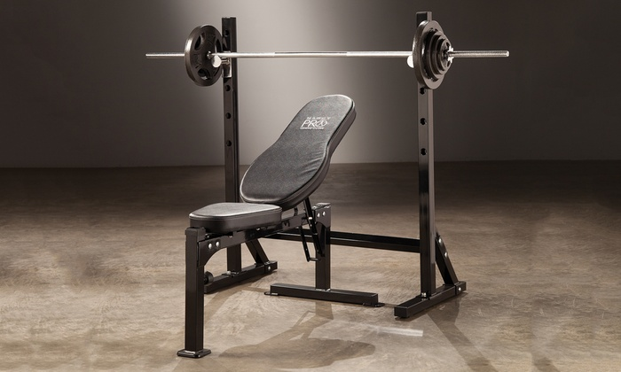 Marcy Pro Workout Bench Groupon Goods