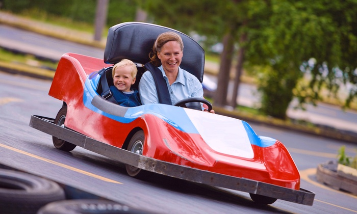 Keansburg Amusement Park - North Middletown: Unlimited Rides Plus Go-Kart Rides for Two or Four at Keansburg Amusement Park (Up to 40% Off)