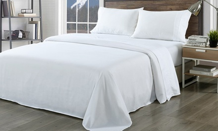 for a 1000TC Ultra Soft Bamboo Rich Sheet Set in Choice of Colour Don't Pay up to $199Don't Pay up to $199