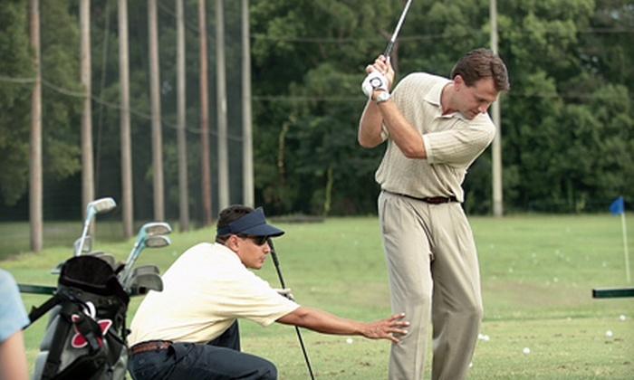 Keith Jarvis Golf - Tucker: Two or Four 30-Minute Private Golf Lessons from Keith Jarvis Golf (Up to 85% Off)