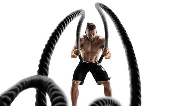 TKO Extreme Battle Rope for Intense Workout
