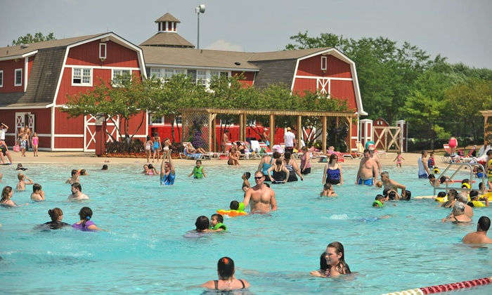 Fox Valley Park District - Aurora: Admission for Two or Four to Splash Country Water Park (50% Off)