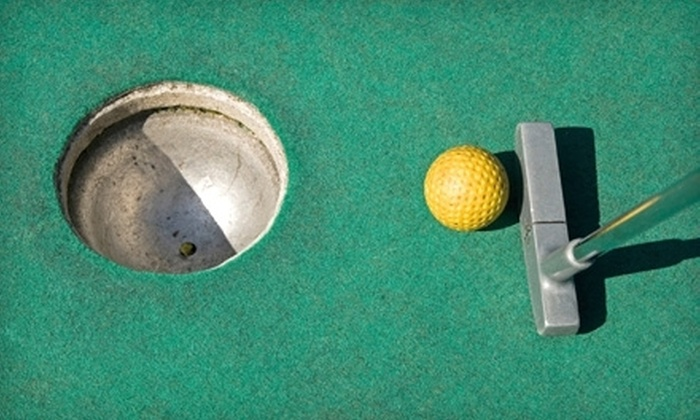 "Mulligan""s Island Golf & Entertainment C - Cranston: $20 for $40 Worth of Range Balls, Mini Golf, and Batting Cages at Mulligan's Island Golf & Entertainment in Cranston"