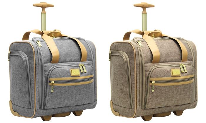 Nicole Miller Carry-On Bag | Groupon Goods