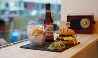 """Menu """"Burger"""", """"Bagel"""" ou """"Salade"""" pour 1 ou 2 personnes dès 8,50 € au restaurant Bagel Box Avenue"""