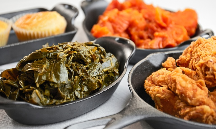 6978 Soul Food - 6978 Soul Food: Two or Four Comfort-Food Meals or One Order of Wings with Two Drinks at 6978 Soul Food (Up to 44% Off)