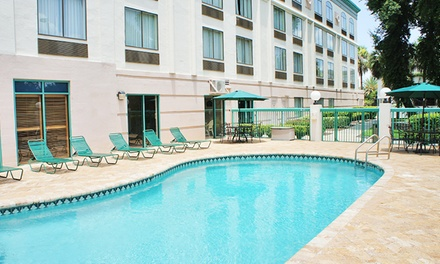 Stay at Wingate by Wyndham Tampa/At USF, FL. Dates into January 2019.