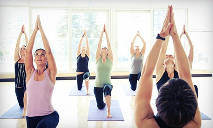 Breathe N Flow Yoga - Freeport: 10 or 20 Yoga Classes at Breathe N Flow Yoga (Up to 79% Off)