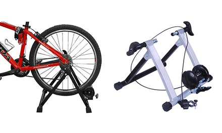 Kinetic or Magnetic Bicycle Trainer from $99 to $129 (Shipping Included)