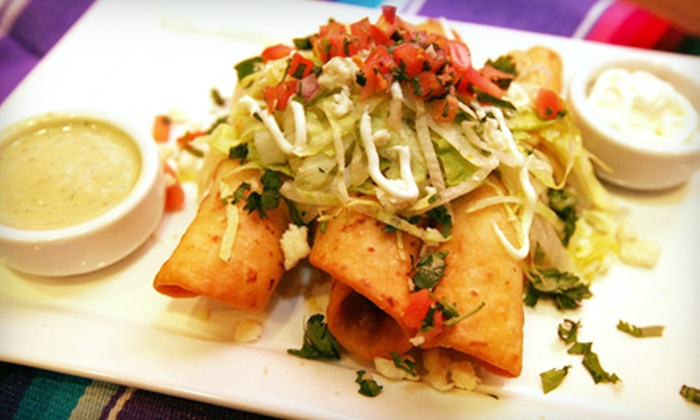 Ocho Taqueria - Del Amo Fashion Center: Father's Day Mexican Meal with Margaritas for Two or Four at Ocho Taqueria (Half Off)
