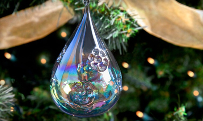 Slow Burn Glass - Oakland: $30 for a Holiday-Ornament-Making Workshop at Slow Burn Glass ($60 Value)