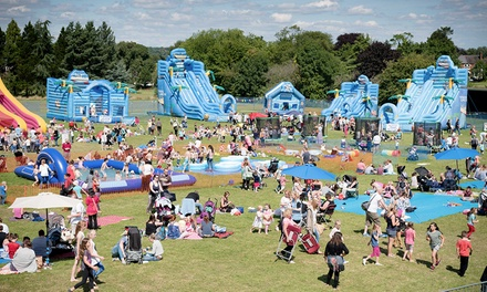 Fantastic Inflatable World Ticket for One Person or a Family of Five