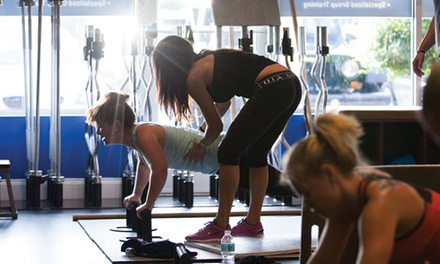 $28 for One Month of Group Personal Training at CROME ($179 Value)