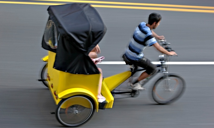 All American Pedicabs - Grand Rapids: $49 for a Two-Hour Brewery Tour on a Pedicab for Up to Three from All American Pedicabs ($100 Value)
