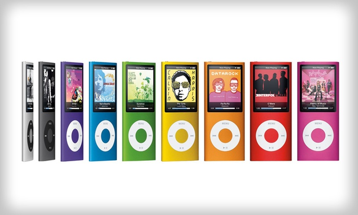 Apple iPod Nano 4th Generation: Apple 8GB or 16GB iPod Nano 4th Generation (Refurbished). Multiple Colors Available. Free Shipping and Returns.