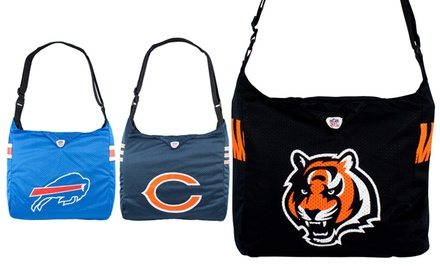 NFL Team Jersey Totes. Multiple Teams Available. Free Returns.