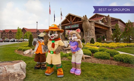 Stay with Water Park Passes and Resort Credit at Great Wolf Lodge Pocono Mountains. Dates into March.