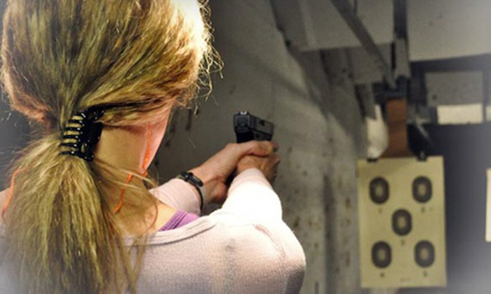 SHE CAN SHOOT, LLC - Washington DC: Women's Introductory Handgun or Shotgun Class for One or Two from SHE CAN SHOOT, LLC (Up to 52% Off)