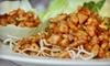 Coconut Bay Fusion Cuisine - Echelon: Asian-Fusion Cuisine for Two or Four at Coconut Bay Fusion Cuisine (Half Off)