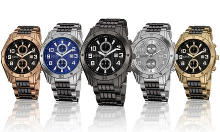 August Steiner Men's Chronograph Watch