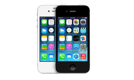 at t iphone deals apple iphone 4 4s reconditionn 233 groupon shopping 10175