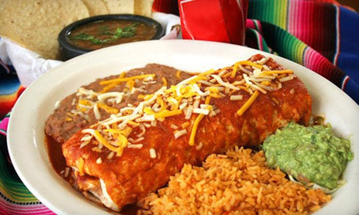 Super Mex - Multiple Locations: Mexican Food and Drinks at Super Mex (Half Off)