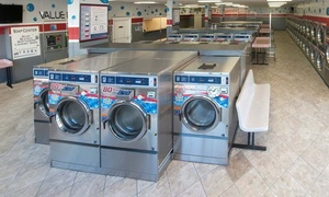 Blue Bubble Express Laundry: $13 for $25 Self-Service Laundry Voucher at Blue Bubble Express Laundromat. Three Locations Available.