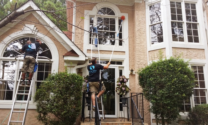 Abracadabra Window Cleaning - Atlanta: Window Cleaning or Pressure-Washing Services from Abracadabra Window Cleaning (Up to 59% Off)