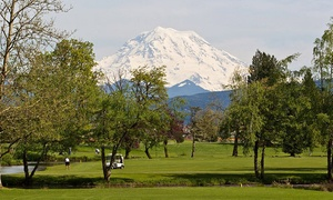 High Cedars Golf Club: Driving-Range Package for Two, or Golf Package for Two or Four at High Cedars Golf Club (Up to 67% Off)