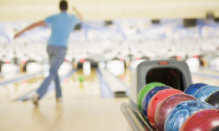 Bowling with Shoe Rental and Pizza for 5 or 10 at Concord Lanes & Arizona Action Park (Up to 79% Off)