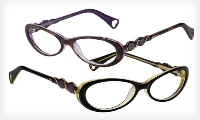 Blushing Buds Frames: $39 for Blushing Buds Optical Frames by Betsey Johnson ($195 List Price). Two Colors Available.
